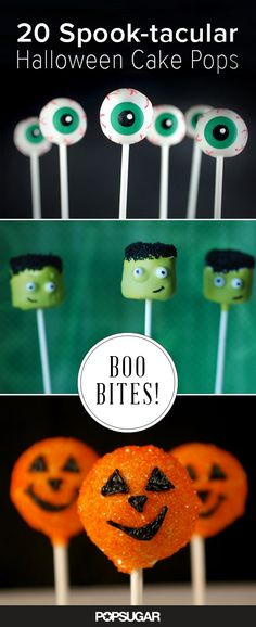 The coolest Halloween cake pops