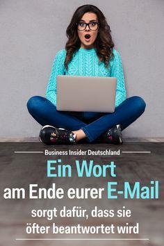Ihr seid auf der Suche nach Tipps und Tricks zum Thema E-Mail? Wir verraten euch, mit welchem Wort ihr eure E-Mail beenden solltet, um eure Antwortrate zu erhöhen! Foto: Shutterstock/BI