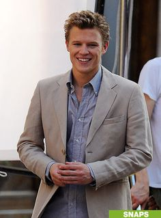 Christopher Egan... Men need to dress like this more often. Classy men are so attractive <3
