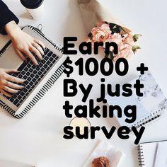 Surveys For Cash, Take Surveys, Make Money Fast, Make Money Online, Online Jobs, Hustle, Big, Simple, Check