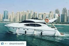 @dreamtraveltv  Dubai #Luxury #Yacht Charter From #DubaiMarina  #Cruise along the spectacular #Dubai coastline and out into the #ArabianGulf. As you reach the outer crescent of the #PalmJumeirah Island the 8th Wonder of the World you see the spectacular view of The Atlantis. On the other side of the Palm Jumeirah you get to see the beautiful view of the world famous and iconic #burjalarab hotel. Carry on cruising along the coastline and you come across the amazing offshore World Islands…