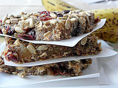 Fruit Breakfast Bars (Dairy, Egg, Sugar, Flour, Nut and Gluten Free)