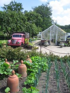Inspirerende moestuin: Landgoed Twickel, Nederland