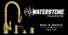 Kitchen Faucets | Waterstone Luxury Kitchen Faucets | Made in the USA