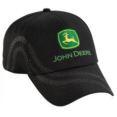 John Deere Tire Tracks Cap - Hats - Men's | RunGreen.com