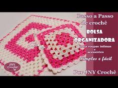 Crochet Granny, Crochet Hats, Granny Square Tutorial, Blanket, Youtube, Simple, 1, Squares, Crochet Organizer