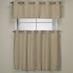 Jcp Home Shari Lace Rod Pocket Window Tier Jcpenney