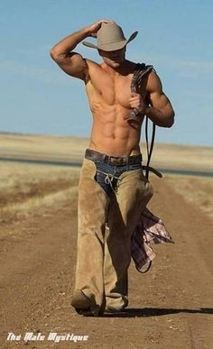 Wanna #FreeDating with #Shirtless #6PackAbs #FitnessModel #HotBody #Muscle #Sexy #CowBoy #CountryBoy ?