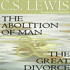 Another must-listen from my #AudibleApp: The Abolition of Man