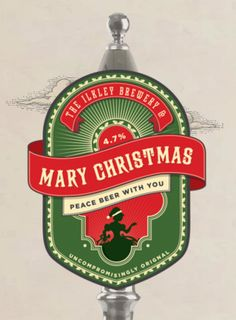 Mary Christmas Peace Beer-