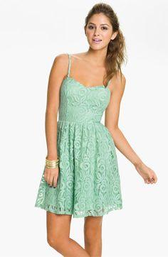 Nordstrom! Fire Lace Dress (Juniors)   Nordstrom
