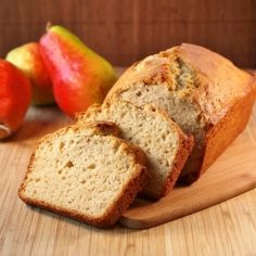 A delightful and easy to make Pear Bread.