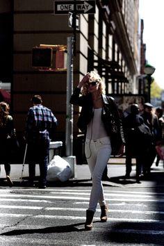 On the Street…..Broadway, New York « The Sartorialist
