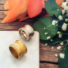 Band rings. #jewelry #jewellery #gold #silver #handcrafted