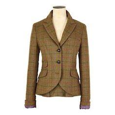 gorgeous tweed blazer