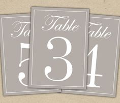 Table plan seating plan on pinterest table numbers for Table numbers for wedding reception templates