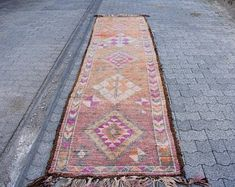 Welcome to Turkish Rug Star by turkishrugstar on Etsy Hallway Rug, Pink Rug, Bohemian Decor, Rug Runner, Runes, Photo S, Etsy Seller, Wedding Inspiration, Wool