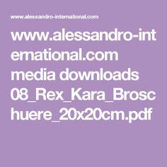 www.alessandro-international.com media downloads 08_Rex_Kara_Broschuere_20x20cm.pdf