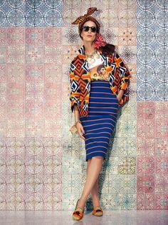 Дикие принты — лукбук Stella Jean  http://fashionblog.com.ua/dikie-printy-lukbuk-stella-jean/