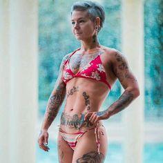 Sara Russert - Vegan straight edge female bodybuilder