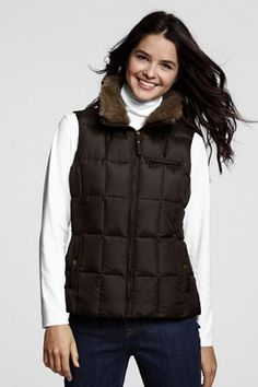Picked up this vest yesterday.  I love that you can remove the fur collar.