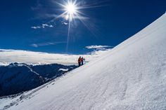 #skitourenwinter #atomicski #adidassporteyewear #suunto #pieps #stiegl #milka #redbull  #weareskiing #discoverthebackland #atomic #arcteryx Adidas Sport, Mount Everest, Skiing, Mountains, Nature, Travel, Adventure, Pictures, Ski