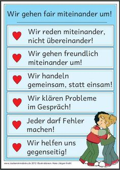 "KlassenplakatMini FaltbuchDas Plakat und das dazu passende Mini Faltbuch sind in… Class posterMini folding bookThe poster and the matching mini folding book can be found internally in the ""Subject lesson"" section. Art Education, Special Education, Elementary Education, Education Quotes, Best Educational Websites, Online College Classes, Classroom Management Plan, School Organization, Questions"