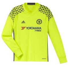 adidas | adidas Chelsea Home Goal Keeper Chemise 2016 2017 Junior | Football Replica Chemises