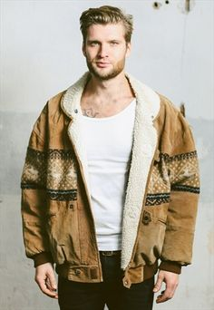 Vintage 90s Aztec Fleece Sherpa Jacket, 58 £ available at ASOS.MP/NORTHERNGRIP