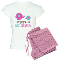 Future Big Sister Elephant Women's Light Pajamas