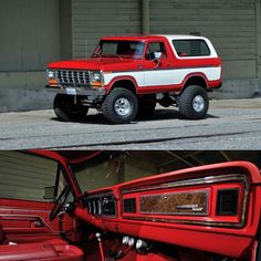 I quite simply fancy this color selection for this 1983 1979 Ford Bronco, 1979 Ford Truck, Bronco Truck, Old Pickup Trucks, Lifted Ford Trucks, 4x4 Trucks, Diesel Trucks, Ford Maverick, Classic Pickup Trucks