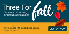 Reward yourself with free gift cards for Shopping, Searching and Discovering stuff online. I have been using Swagbucks for years and they are legit! Online Earning, Earn Money Online, Free Gift Cards, Free Gifts, Make Money From Home, Way To Make Money, Surveys For Money, Frugal Tips, Extra Money