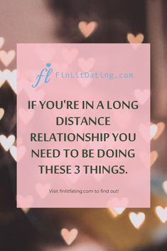 Long distance relationships can be tough, if couples do these 3 things the relationship has a greater chance for success. Healthy and happy relationships are still possible despite distance. #relationshipquotes #ldr #longdistance #healthyrelationships Healthy Relationship Tips, Relationship Questions, Relationship Bases, Distance Relationships, Happy Relationships, Strong Relationship, Relationship Quotes, 3 Things, Spice Things Up