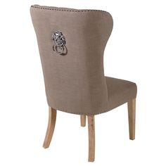 Krzesło Beżowe Glamour