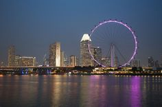 The Singapore Flyer was lit up pink for Breast Cancer Awareness  2013 | Philips