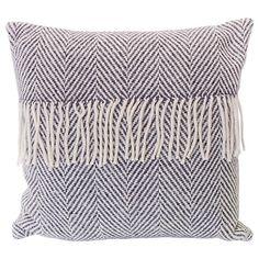 Buy Avoca Heavy Herringbone Wool Cushion Online at johnlewis.com