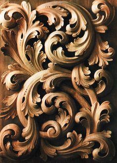 Wood florals