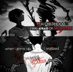 Anime: Ajin (c)owner Sad Anime Quotes, Manga Quotes, Me Anime, Anime Manga, Ajin Anime, Demi Human, Human Human, Dark Quotes, Les Sentiments