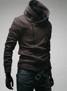 High neck hoodie  http://www.aliexpress.com/store/product/Free-Shipping-Hot-High-Collar-Coat-Top-Brand-Men-s-Jackets-Men-s-Dust-Coat-Men/205368_421286758.html