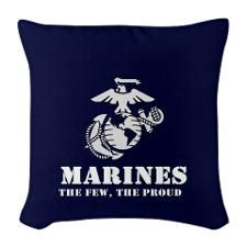 The Marines, the Few, the Proud pillow