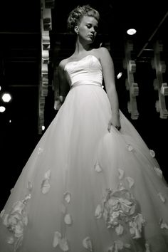 Wedding dress by Britta Kjerkegaard at The Couture Gallery, London. www.thecouturegallery.com