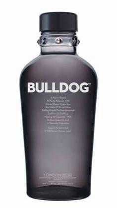Bulldog Gin    #gin #bulldog #design #bottle