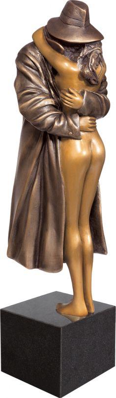 The Kiss Bruno Bruni Bronze