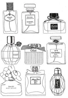 Perfumes To Draw!!!(: