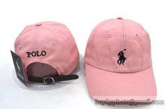 Polo Strapback Baseball Cap Pink c1125f6c4e1