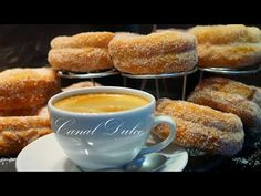 ROSQUILLOS O ROSQUILLAS MUY FÁCILES - YouTube Pretzel Bites, Doughnut, Donuts, French Toast, Bakery, Bread, Chocolate, Breakfast, Desserts