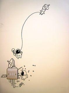 Wall doodle - JDA - Get A Loada Geo