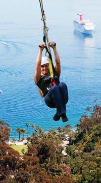 Catalina Island Zipline Eco-Tour from Anaheim or Los Angeles #anaheim #california