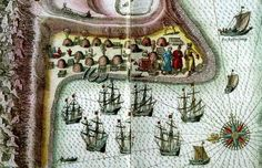 The British Trade Route to the White Sea - 1553  Another important harbour was Kildin on the Murman Coast - but for furs not  flax.             The 1553 British expedition can be looked upon as a rediscovery of the sea route that led to the Russian markets and the foundation was finally laid by the British for the commercial use of a sea route which the northern native Sámi inhabitants had already exploited for several hundred years.             The European trade with northern Russia was not only focused on the Archangel area but also on the numerous small ports of the Kola peninsula's Murman Coast. Even though the Archangel activities could be regarded as transit trade to the interior of Russia, and Moscow, the Kola trade was more regional in nature with Kildin being the most important for furs and other naturals. Kola Peninsula, White Sea, 16th Century, Prehistoric, Northern Lights, Archangel, Map, Activities, Furs