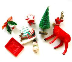 i love tiny, old Christmas things...